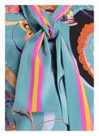ETRO Schluppenbluse aus Seide, Farbe: HELLBLAU GEMUSTERT (Bild 1)
