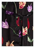 Mrs & HUGS Hemdblusenkleid, Farbe: SCHWARZ GEMUSTERT (Bild 1)