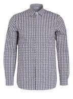 VALENTINO Hemd , Farbe: DUNKELBLAU/ CREME (Bild 1)