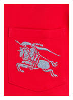 BURBERRY Poloshirt, Farbe: ROT (Bild 1)