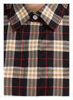 BURBERRY Bluse, Farbe: SCHWARZ/ ROT/ BEIGE KARIERT (Bild 1)