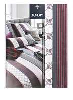 JOOP! Bettwäsche CORNFLOWER STRIPES, Farbe: BORDEAUX/ CREME/ GRAU (Bild 1)