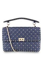 VALENTINO GARAVANI Handtasche ROCKSTUD SPIKE LARGE, Farbe: PURE BLUE (Bild 1)