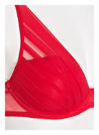 Passionata Triangel-BH GRAPHIC, Farbe: ROT (Bild 1)