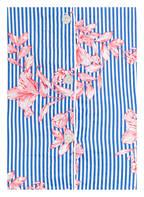 LAUREN RALPH LAUREN Nachthemd, Farbe: BLAU/ WEISS GESTREIFT (Bild 1)
