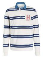 HACKETT LONDON Poloshirt, Farbe: WEISS/ BLAU (Bild 1)