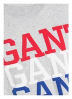 GANT T-Shirt, Farbe: GRAU MELIERT (Bild 1)