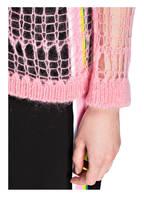 N°21 Strickjacke mit Mohairanteil, Farbe: ROSA (Bild 1)