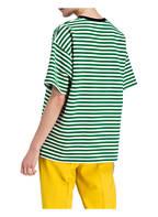N°21 T-Shirt, Farbe: GRÜN/ WEISS GESTREIFT (Bild 1)