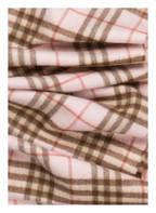 BURBERRY Cashmere-Schal, Farbe: HELLROSA/ BEIGE (Bild 1)