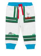 BURBERRY Sweatpants, Farbe: HELLGRAU/ TÜRKIS/ GRÜN (Bild 1)