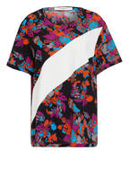 GIVENCHY Blusenshirt aus Seide, Farbe: ORANGE/ SCHWARZ/ LILA (Bild 1)