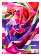 EMPORIO ARMANI Seidentuch , Farbe: ROT/ GRÜN/ PINK (Bild 1)