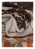 ETRO Leinenschal, Farbe: BEIGE/ ORANGE (Bild 1)
