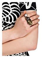 ALEXANDER McQUEEN Ring, Farbe: GOLD/ WEISS/ ROSÉ (Bild 1)