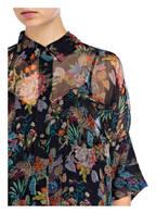 ESSENTIEL ANTWERP Bluse, Farbe: DUNKELBLAU/ GRÜN/ ORANGE (Bild 1)