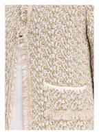 Princess GOES HOLLYWOOD Tweed-Blazer, Farbe: SAND/ GOLD/ SILBER (Bild 1)