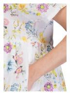 120%lino Leinenkleid, Farbe: WEISS/ GELB/ ROSA (Bild 1)