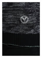 CARLO COLUCCI Strickjacke, Farbe: SCHWARZ/ WEISS (Bild 1)