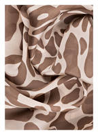 JIMMY CHOO Seidenschal, Farbe: BEIGE/ BRAUN (Bild 1)
