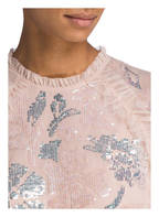 needle & thread Blusenshirt FLORAL GLOSS , Farbe: HELLROSA (Bild 1)