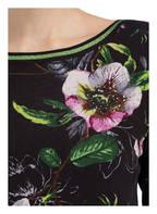Betty Barclay Feinstrickpullover , Farbe: SCHWARZ/ GRÜN/ WEISS (Bild 1)