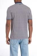VALENTINO Poloshirt, Farbe: DUNKELBLAU/ CREME (Bild 1)