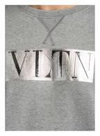 VALENTINO Sweatshirt VLTN , Farbe: GRAU MELIERT (Bild 1)