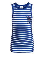 Sanetta Unterhemd, Farbe: BLAU/ WEISS (Bild 1)