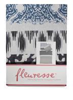 fleuresse Biber-Bettwäsche DAVOS, Farbe: BLAU/ GRAU (Bild 1)