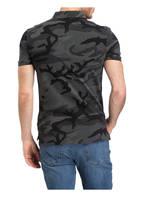 POLO RALPH LAUREN Piqué-Poloshirt Custom Slim Fit, Farbe: DUNKELGRAU/ SCHWARZ (Bild 1)