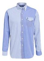 POLO RALPH LAUREN Hemd Comfort Fit, Farbe: BLAU/ WEISS GESTREIFT (Bild 1)
