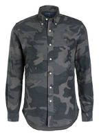 POLO RALPH LAUREN Hemd Slim Fit, Farbe: KHAKI/ DUNKELGRAU (Bild 1)