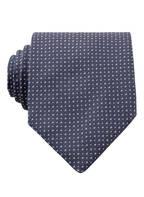BOSS Krawatte, Farbe: DUNKELBLAU/ ROSA (Bild 1)