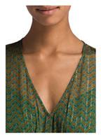 ba&sh Kleid WANDA, Farbe: GRÜN/ ORANGE/ SCHWARZ (Bild 1)