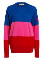 MONCLER Cashmere-Pullover, Farbe: BLAU/ ROSA/ ROT (Bild 1)