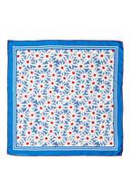 CLAUDIE PIERLOT Seidentuch AMICAL , Farbe: BLAU/ WEISS (Bild 1)