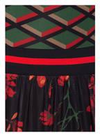 ONE MORE STORY Kleid, Farbe: GRÜN/ ROT/ SCHWARZ (Bild 1)