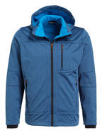 CMP Softshell-Jacke, Farbe: BLAU MELIERT (Bild 1)