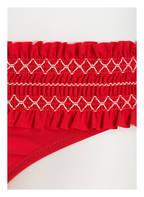 TORY BURCH Bikini-Hose COSTA , Farbe: ROT/ WEISS (Bild 1)