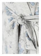 DARLING HARBOUR Morgenmantel, Farbe: GRAU/ HELLBLAU (Bild 1)