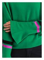 Mrs & HUGS Cashmere-Pullover, Farbe: GRÜN (Bild 1)