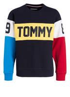 TOMMY HILFIGER Sweatshirt, Farbe: DUNKELBLAU/ GELB/ WEISS (Bild 1)
