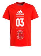 adidas T-Shirt SPORT ID, Farbe: ROT (Bild 1)