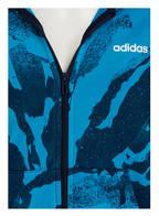 adidas Sweatjacke ESSENTIALS, Farbe: BLAU/ WEISS (Bild 1)