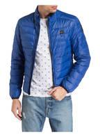 Blauer Daunenjacke, Farbe: BLAU (Bild 1)