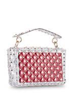 VALENTINO GARAVANI Handtasche ROCKSTUD SPIKE MEDIUM, Farbe: TRANSPARENT (Bild 1)