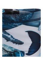 molo Badehose NORTON mit UV-Schutz 50+, Farbe: BLAU/ WEISS (Bild 1)