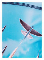 molo Badehose NORTON PLACED mit UV-Schutz 50+, Farbe: HELLBLAU (Bild 1)