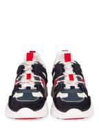 ISABEL MARANT Plateau-Sneaker KINDSAY, Farbe: DUNKELBLAU/ CREME (Bild 1)